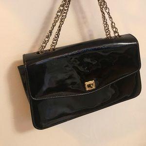 Patent leather purse